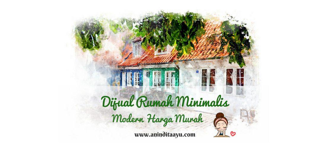 Dijual Rumah Minimalis Modern Harga Murah