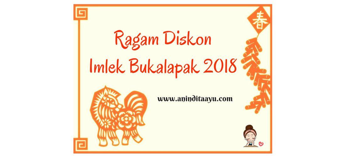 Ragam Diskon Imlek Bukalapak 2018