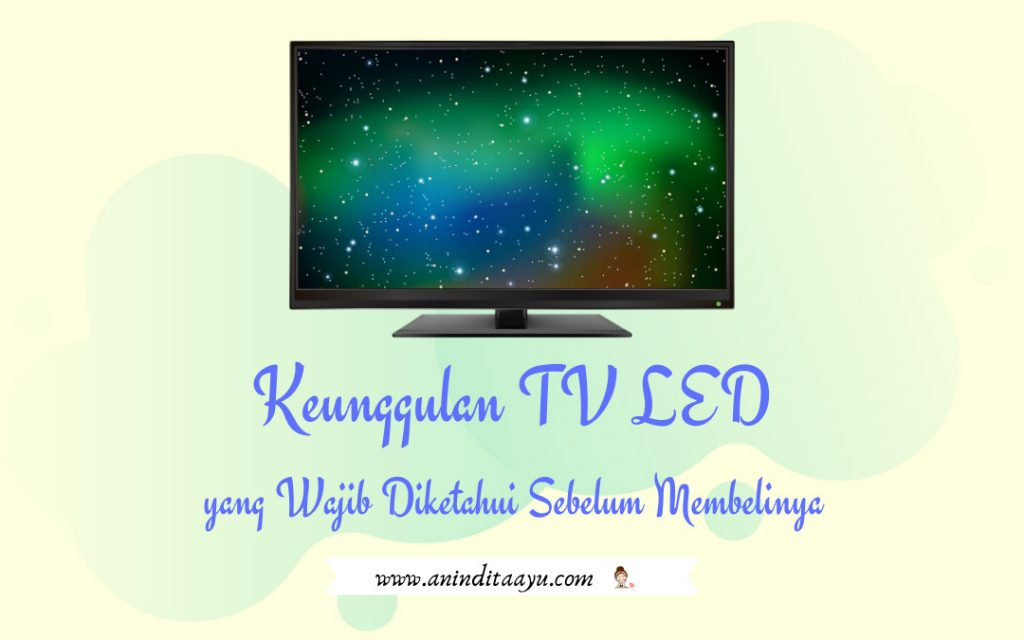 keunggulan tv led